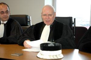 Jacky De Souza et Marcel Tournois, président.