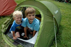 Le camping, un vrai plaisir.