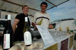 Vincent Cheviet, (Bucey-lès-Gy) producteur de vins de Pays de Franche-Comté.