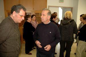 Le président Michel Paris (à droite)