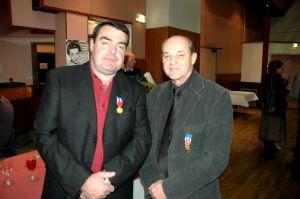 Eric Tondu et Jean-Luc Favret ont été décorés