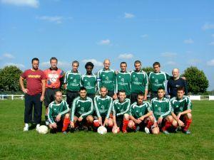 Exceptionnellement, l'équipe B a joué en vert.