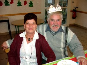 Michèle et Gérard Nolot : le roi et sa reine.
