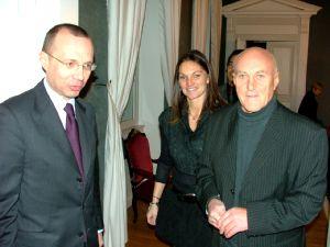 Le préfet a accueilli Marie-Pierre et Jean-Marie Euvrard.