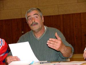 Claude Péroz, président du Football Club du Lac.