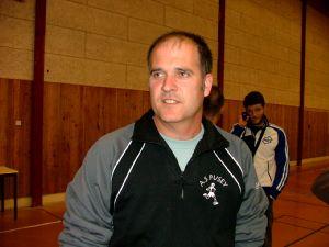 Arnaud Sekli, entraîneur.
