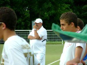 Thiery Bedin, le coach du FCL.
