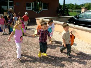 A l'école maternelle des Vergers.