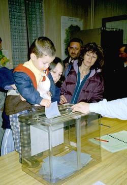 Consultation organisée le 20 novembre 2002 pour choisir le Gentillé ''Les Montinois''
