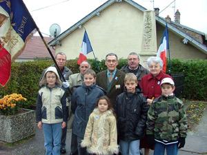 11 novembre 2006 : Commémoration