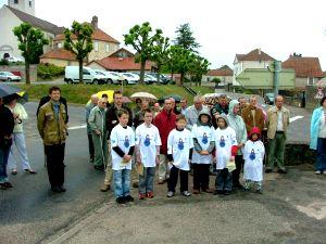 Cérémonie du 8 Mai 2007 à Montigny les Vesoul