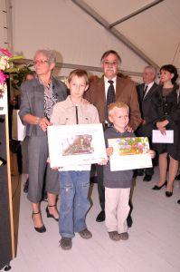 Deux enfants Montinois étaient présents.