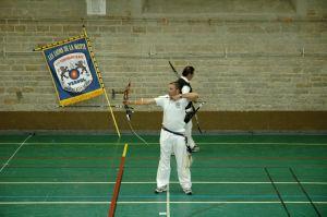 Mickaël Fournier en action lors des championnats disputés à Vesoul.